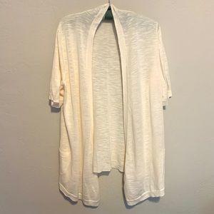 Liz Claiborne Drape Front Short Sleeve Sweater
